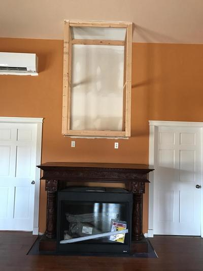 Two Rivers Bed and Breakfast Aims to Keep Their Guests Warm and Cozy: Installing a gas fireplace is a big item on the to-do list here at Two Rivers Bed & Breakfast. This is a considerable expense